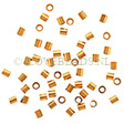 GOLDEN CRIMP BEADS / SPACER -  2X2MM (14K GF)